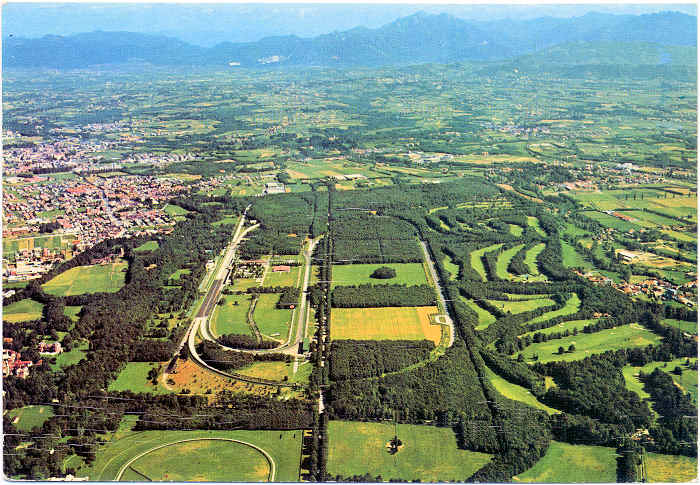 Monza park and race track