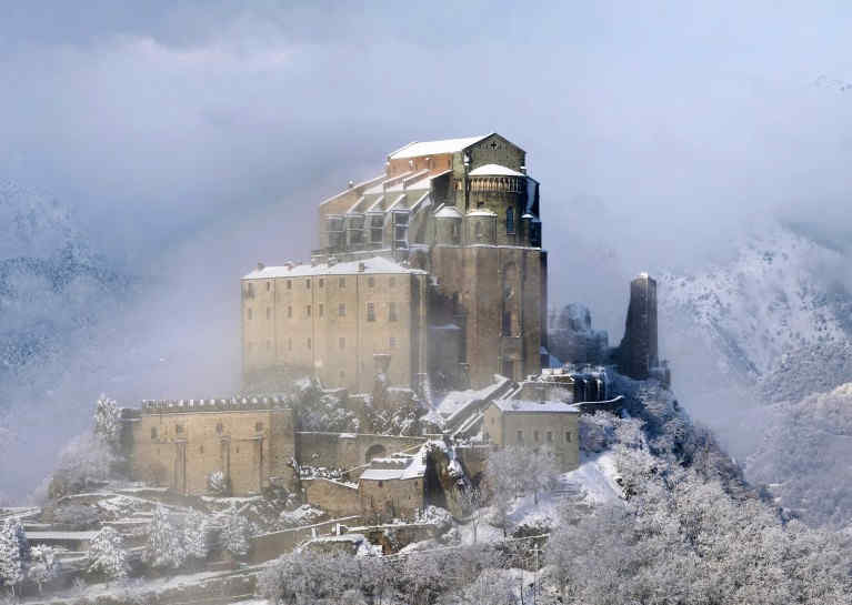 Sacra di San Michele, courtesy of Elio Pallard, CC BY-SA License